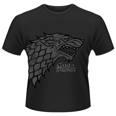 "T-Shirt Game of Thrones ""Direwolf"" - L / Game of Thrones"
