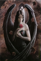 Magnet Anne Stokes Angel Rose