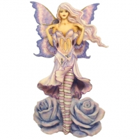 figurine fée amy brown datura rose fairysite