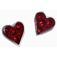 Boucles d'Oreilles Alchemy Gothic Heart's Blood