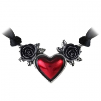 collier alchemy gothic Blood Heart
