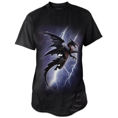 "T-Shirt Dragon ""Lightning Dragon"" - XL / Vêtements - Taille XL"