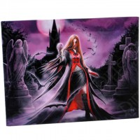 Anne Stokes toile sur chassis Blood Moon