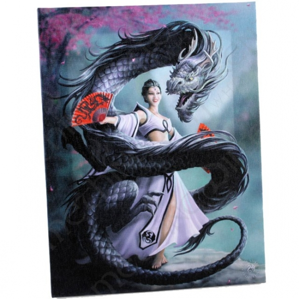 Anne stokes toile sur chassis dragon dancer - Toile sur chassis ...