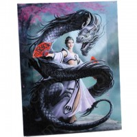 Anne Stokes toile sur chassis Dragon Dancer
