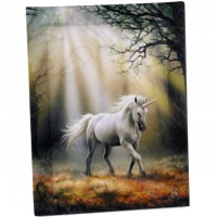 Anne Stokes toile sur chassis Glimpse of a Unicorn