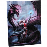 Anne Stokes toile sur chassis Scarlet Mage