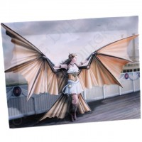 Anne Stokes toile sur chassis The Aviator Fairy