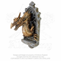 Applique Dragon Alchemy Gothic The Laidly Relic