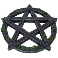 "Applique ""Wiccan Pentagram"""