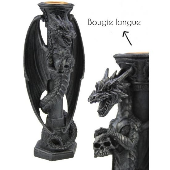 Bougeoir Dragon / Bougeoirs Dragons