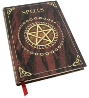 carnet intime spell book red
