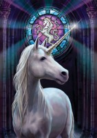 carte anne stokes licorne enlightnment unicorn