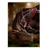 carte anne stokes dragon winged companion
