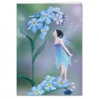 carte tree free fée forget me not fairy de rachel anderson