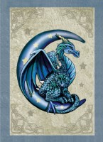 carte lisa parker dragon bleu