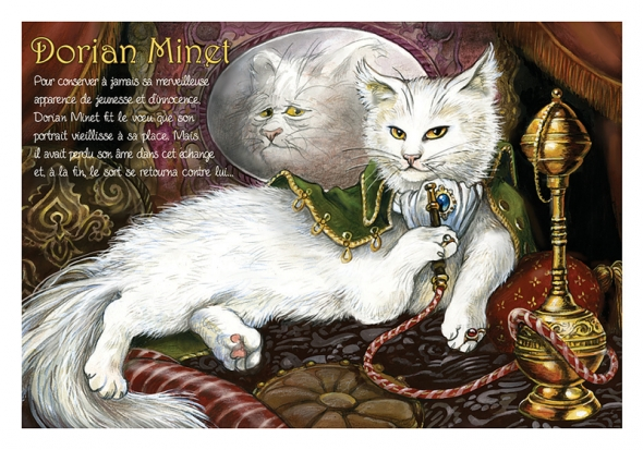 "Carte Postale Chat ""Dorian Minet"" / Cartes Postales Chats"