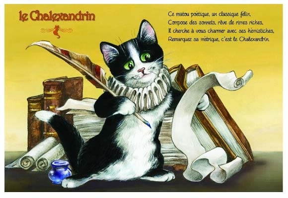 "Carte Postale Chat ""Le Chalexandrin"" / Cartes Postales Chats"