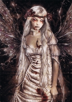 carte postale Victoria Frances Dark Angel