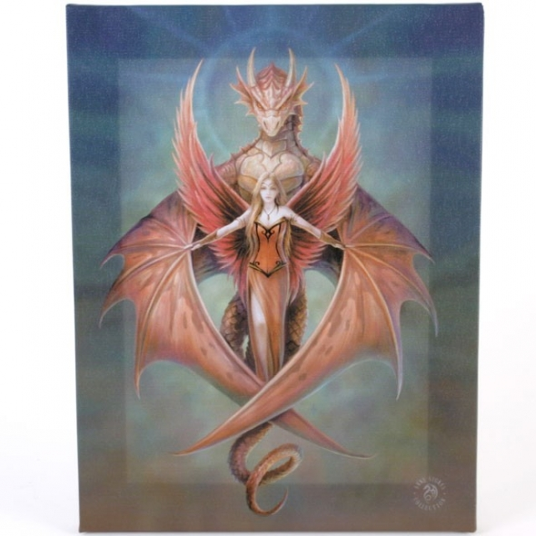 Anne stokes toile sur chassis copper wing - Toile sur chassis ...
