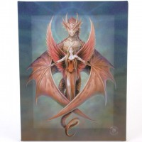 Anne Stokes toile sur chassis Copper Wing