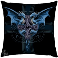 Coussin Anne Stokes Dragon Duo