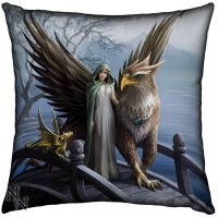 Coussin Anne Stokes Realm of Tranquility