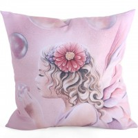 Coussin Fée Jessica Galbreth Believe