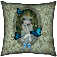 Coussin Fée Lily - Jasmine Becket Griffith - Nemesis Now - B1361D5