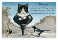 Carte Postale Severine Pineaux Chat Matoupie CKP075