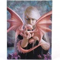 Anne Stokes toile sur chassis Dragon Kin