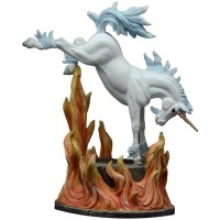 Figurine Licorne Dragonsite Infernos Andrew Hull
