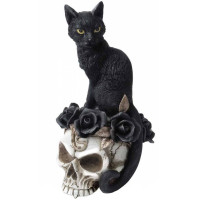 Figurine chat noir Grimalkin's Ghost V71