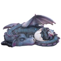 Figurine de Dragon Dragon Dream a Little Dream Blue