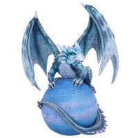 Figurine de Dragon Mercury Guardian