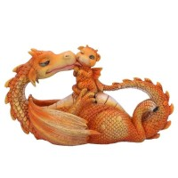 Figurine de Dragon Sweetest Moment Orange