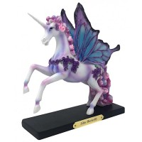 Figurine Licorne Lilac Butterfly