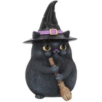 statuette de chat Lucky Black Cat B4088M8