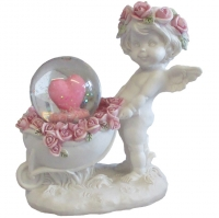 Figurine Ange Rose Angel A308499