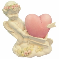 Figurine Ange Rose Angel A308586