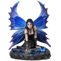 figurine de fée immortal flight de anne stokes