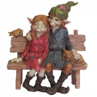 Figurine couple de Pixies
