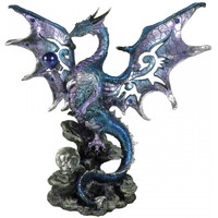 Figurine Dragon Blue Protector AL50262