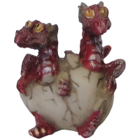 figurines dragonnets rouges
