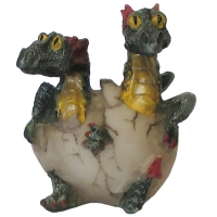 figurines dragonnets verts
