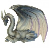 figurine dragon Grey Wisdom