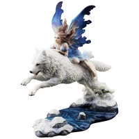 Figurine Fée veronese Butterfly fairy and the leaping