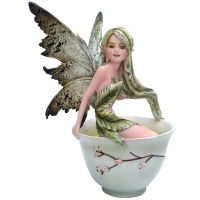 Figurine de Fée Amy Brown Green Tea