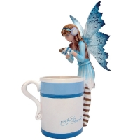 Figurine de Fée Amy Brown Hot Cocoa Fairy