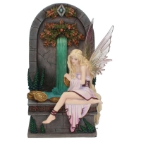 Figurine Fée Selina Fenech Fairy Wishing Well - Fée Veronese